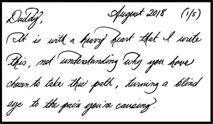 Το γράμμα της Μαρκλ στον πατέρα της: «Mου προκαλείς τόσο πόνο...» [Φωτο] - εικόνα 3