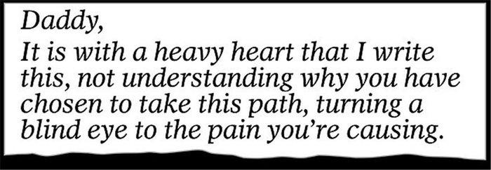 Το γράμμα της Μαρκλ στον πατέρα της: «Mου προκαλείς τόσο πόνο...» [Φωτο] - εικόνα 4