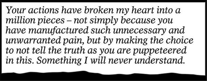 Το γράμμα της Μαρκλ στον πατέρα της: «Mου προκαλείς τόσο πόνο...» [Φωτο] - εικόνα 5