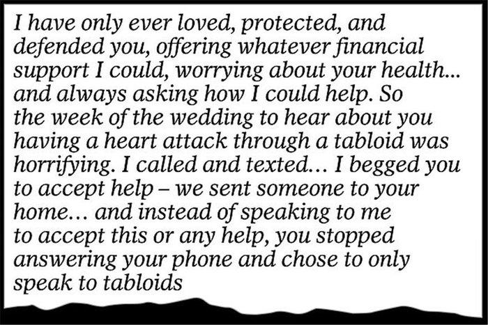 Το γράμμα της Μαρκλ στον πατέρα της: «Mου προκαλείς τόσο πόνο...» [Φωτο] - εικόνα 7