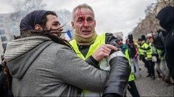 Νέες συγκρούσεις στο Παρίσι μπροστά στο Κοινοβούλιο