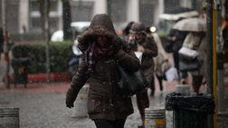 Meteo: Νέο κύμα κακοκαιρίας με μεγάλη πτώση θερμοκρασίας και χιόνια