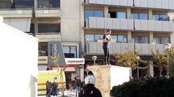 Αίσιο τέλος για πρόσφυγα που απειλούσε να αυτοπυρποληθεί στην Κρήτη