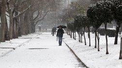 Εκτακτο δελτίο ΕΜΥ: Χιόνια & πτώση θερμοκρασίας έως 10 βαθμούς
