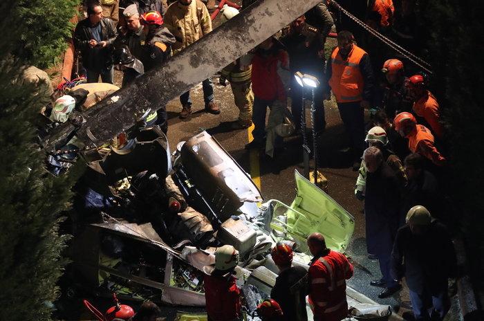 Συνετρίβη στρατιωτικό ελικόπτερο στην Κωνσταντινούπολη - Video