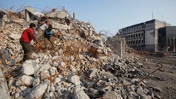 Οι μικροί, άστεγοι ρακοσυλλέκτες της Μοσούλης