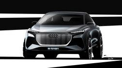 Αποκάλυψη για το  Audi Q4 e-tron concept - Τα πρώτα σκίτσα