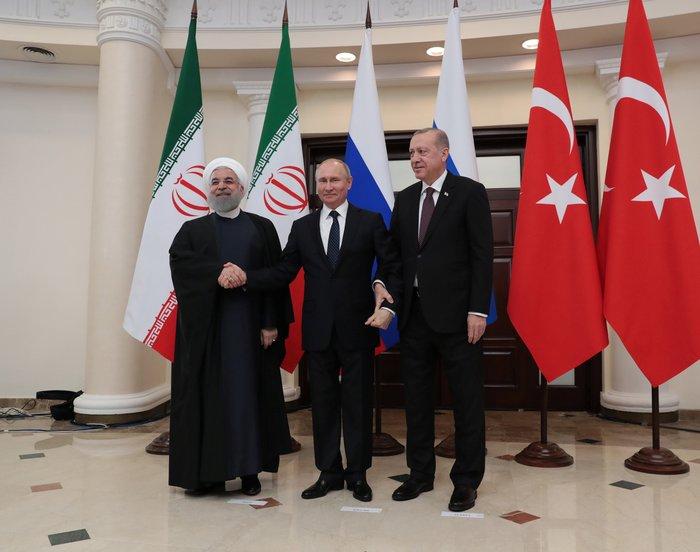 Ρωσία, Τουρκία, Ιράν: Θετική η αποχώρηση των ΗΠΑ από τη Συρία