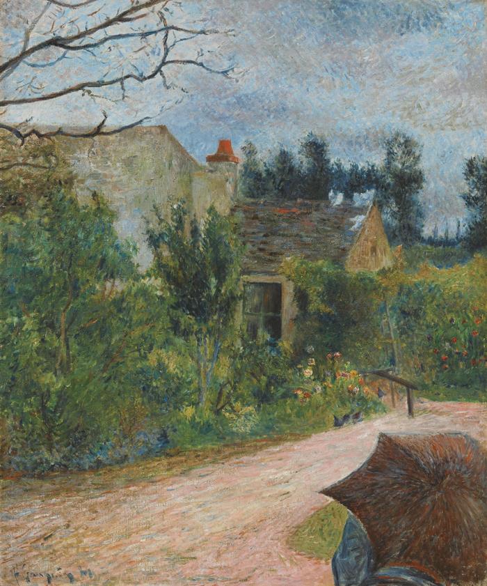 Le Jardin de Pissarro, Quai du Pothuis à Pontoise