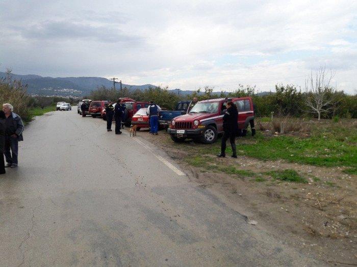 Τέσσερις αγνοούμενοι στην Κρήτη- Το ΙΧ παρασύρθηκε από ρέμα - εικόνα 6