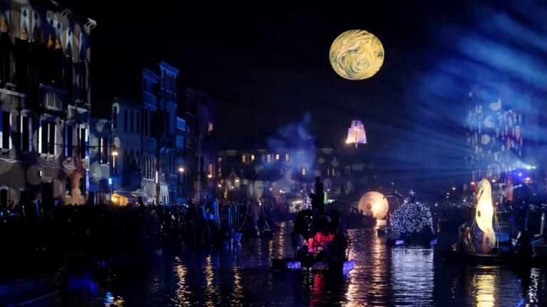 Εντυπωσιακές εικόνες από το καρναβάλι της Βενετίας
