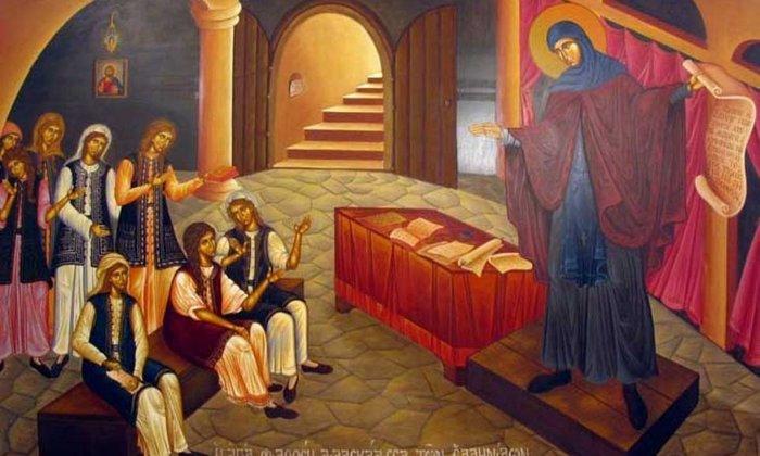 Η Αγία Φιλοθέη διδάσκει