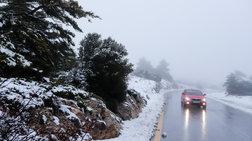 Eκτακτο δελτίο ΕΜΥ: Χιόνια από το Σάββατο και στο κέντρο της Αθήνας
