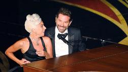 Η Lady Gaga και ο Μπράντλεϊ Κούπερ μαζί στη σκηνή των Oσκαρ
