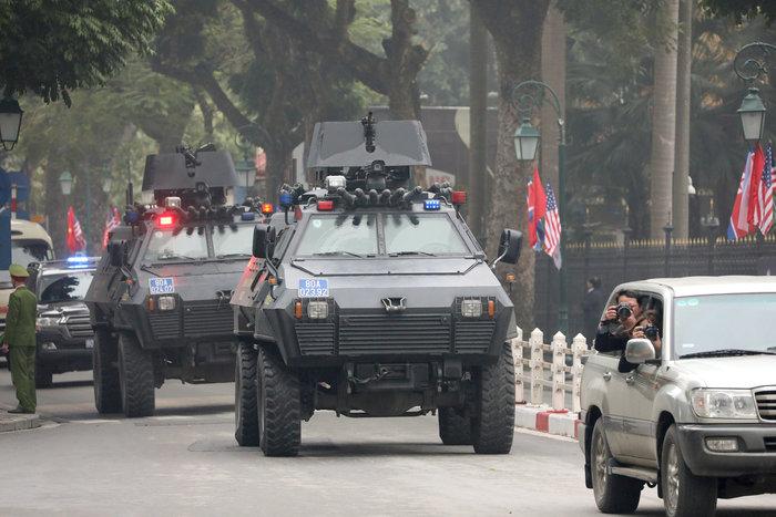 Τετ α τετ Κιμ-Τραμπ πριν από την σύνοδο στο Ανόι