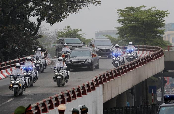 Τετ α τετ Κιμ-Τραμπ πριν από την σύνοδο στο Ανόι - εικόνα 2
