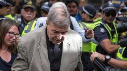Eνοχος για σεξουαλική κακοποίηση ανηλίκων ο καρδινάλιος Τζορτζ Πελ