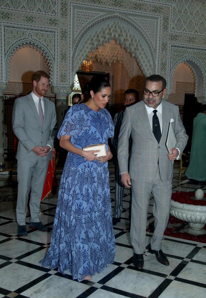 Μέγκαν Μαρκλ: Στο Μαρόκο με εξωτικό φλοράλ φόρεμα της Καρολίνα Χερέρα - εικόνα 3