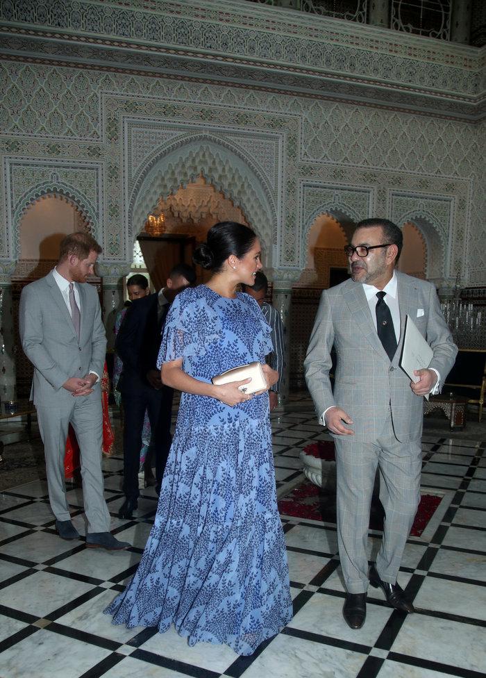 Μέγκαν Μαρκλ: Στο Μαρόκο με εξωτικό φλοράλ φόρεμα της Καρολίνα Χερέρα - εικόνα 4