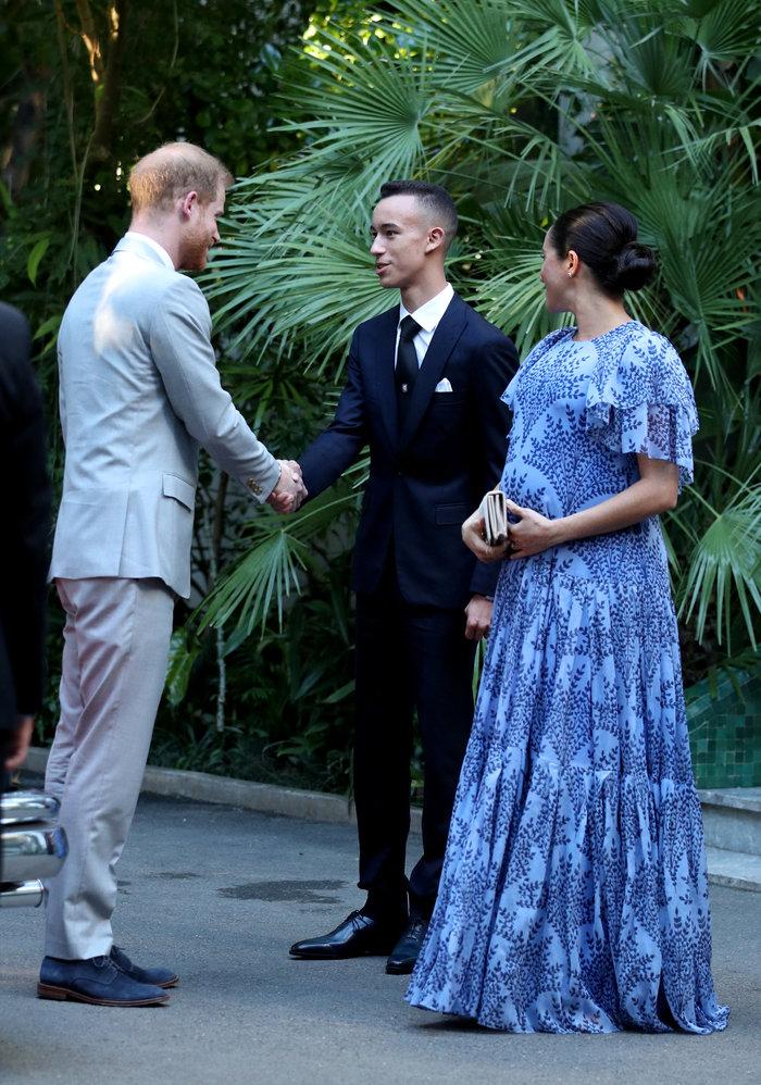 Μέγκαν Μαρκλ: Στο Μαρόκο με εξωτικό φλοράλ φόρεμα της Καρολίνα Χερέρα - εικόνα 5