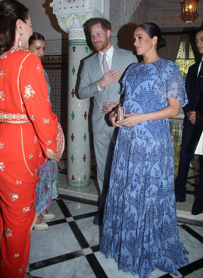 Μέγκαν Μαρκλ: Στο Μαρόκο με εξωτικό φλοράλ φόρεμα της Καρολίνα Χερέρα - εικόνα 6