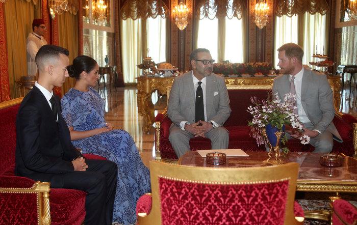 Μέγκαν Μαρκλ: Στο Μαρόκο με εξωτικό φλοράλ φόρεμα της Καρολίνα Χερέρα - εικόνα 7
