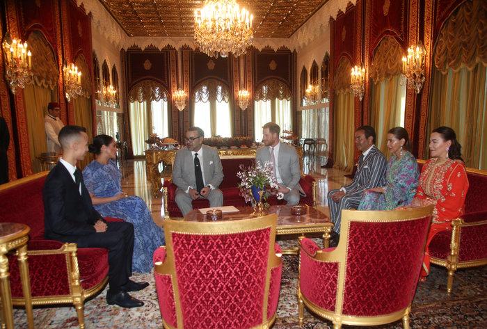 Μέγκαν Μαρκλ: Στο Μαρόκο με εξωτικό φλοράλ φόρεμα της Καρολίνα Χερέρα - εικόνα 8