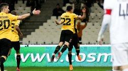 """Πέρασε στους """"4"""" η ΑΕΚ νικώντας 3-0 τον Ατρόμητο"""