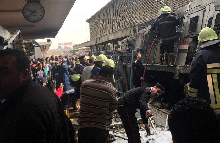 Κάιρο: 25 νεκροί, 50 τραυματίες από φωτιά στον σταθμό τρένων - εικόνα 2