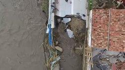 Κρήτη: Εικόνες καταστροφής από drone - Ξεκίνησαν οι εργασίες αποκατάστασης