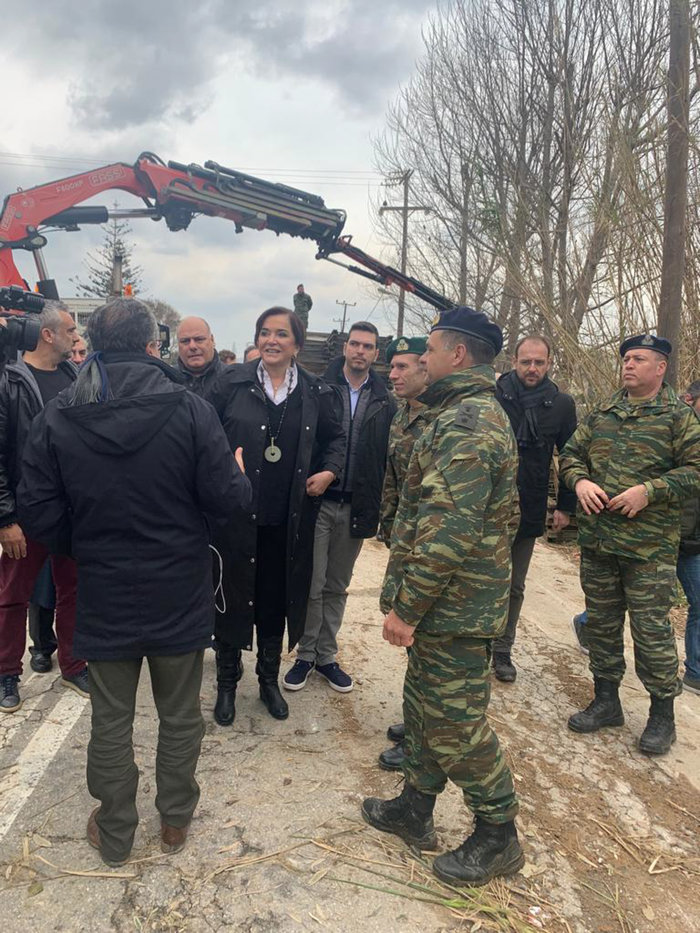 Κρήτη: Εικόνες καταστροφής από drone - Ξεκίνησαν οι εργασίες αποκατάστασης - εικόνα 5