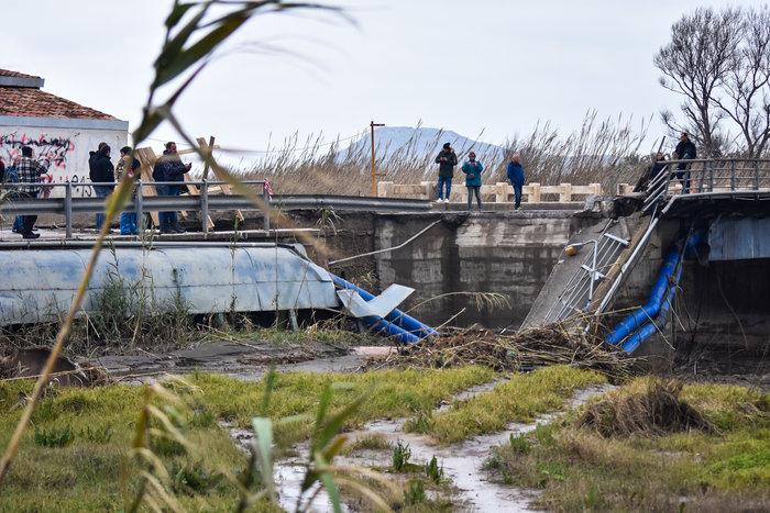 Κρήτη: Εικόνες καταστροφής από drone - Ξεκίνησαν οι εργασίες αποκατάστασης - εικόνα 4