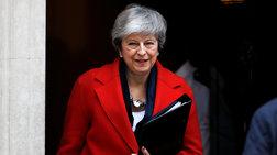 Βρετανία: Υπερψηφίστηκε η νέα στρατηγική της Μέι για το Brexit