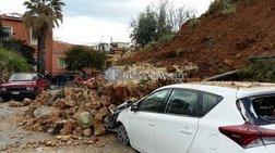 Κατέρρευσε τμήμα μνημείου στην παλιά πόλη των Χανίων [φωτό - βίντεο]