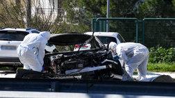 Εικόνες από την έκρηξη στο πάρκινγκ της Γλυφάδας