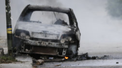 Εμπρησμός τριών οχημάτων εταιρείας στο Μοσχάτο