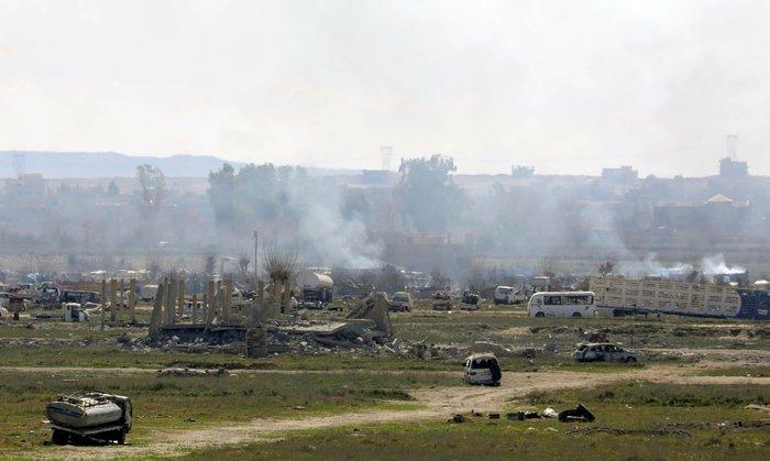 Συρία: Άμαχοι ως «ανθρώπινες ασπίδες» στο τελευταίο προπύργιο του ISIS