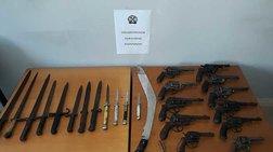 Σάκος με οπλισμό εντοπίστηκε σε δασώδη περιοχή στο Καλπάκι