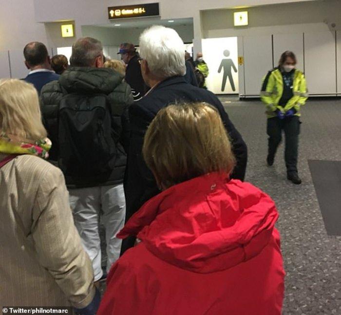 """Αγγλία: """"Μυστηριώδης ασθένεια"""" έβαλε100 επιβάτες σε καραντίνα (φωτό)"""
