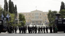 Συγκέντρωση διαμαρτυρίας αστυνομικών στο υπ. Προστασίας