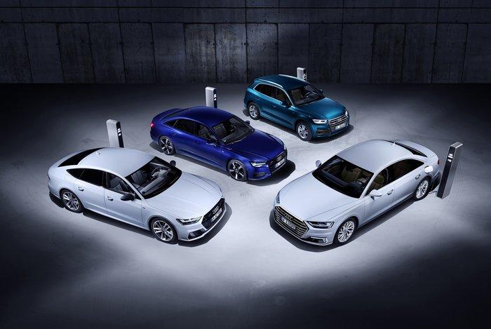 Πως λειτουργούν οι plug-in υβριδικές εκδόσεις των Audi Q5, A6, A7, A8