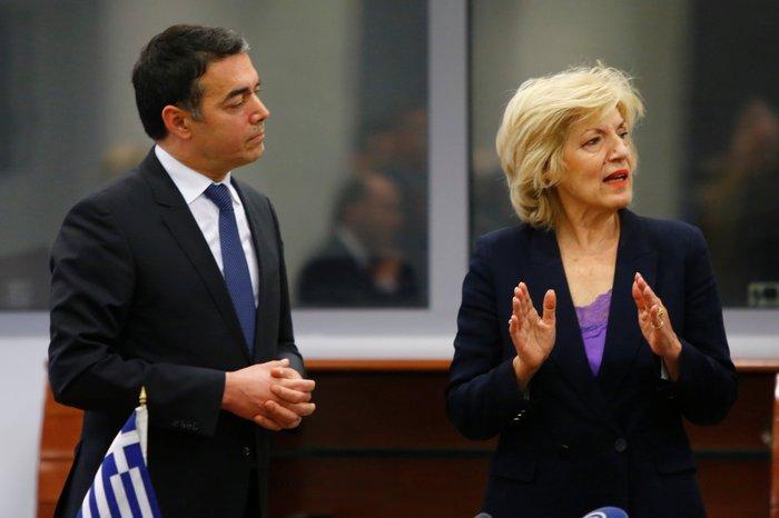Συμφωνία  Ντιμιτρόφ - Αναγνωστοπούλου για νέα συνοριακή δίοδο στις Πρέσπες
