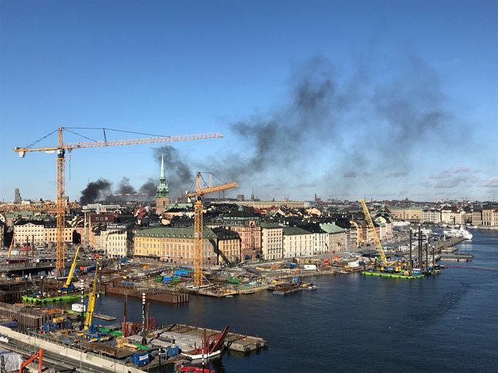 Εκρηξη σε λεωφορείο στο κέντρο της Στοκχόλμης