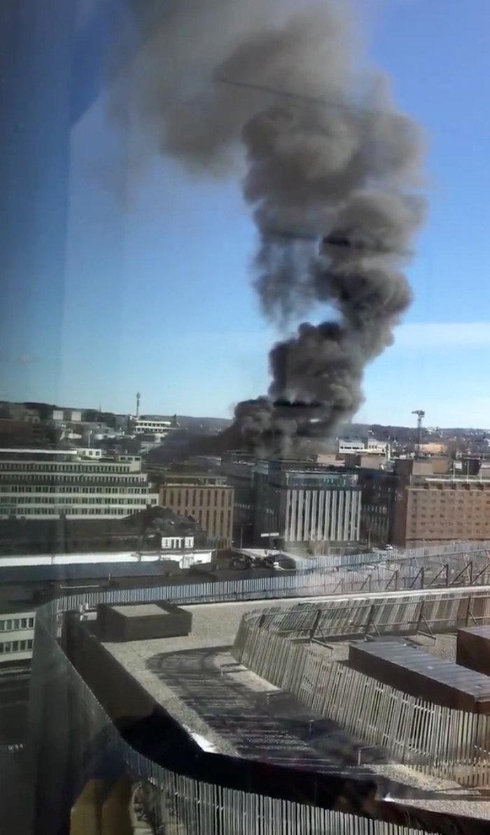 Εκρηξη σε λεωφορείο στο κέντρο της Στοκχόλμης - εικόνα 2