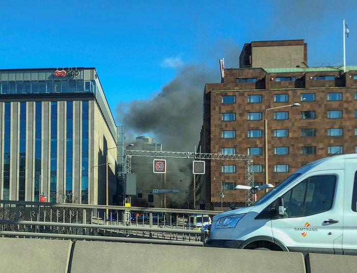Εκρηξη σε λεωφορείο στο κέντρο της Στοκχόλμης - εικόνα 3