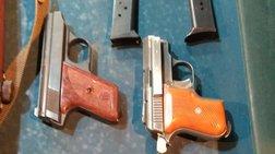 Ολόκληρο «οπλοστάσιο» διατηρούσε 60χρονος που συνελήφθη, στον Ασπρόπυργο