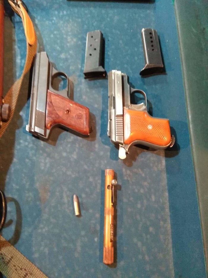 Ολόκληρο «οπλοστάσιο» διατηρούσε 60χρονος που συνελήφθη, στον Ασπρόπυργο - εικόνα 2