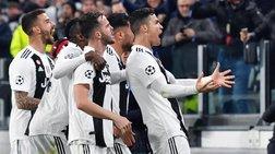 Champions League: Ο Ρονάλντο πήρε από το χέρι τη Γιουβέντους