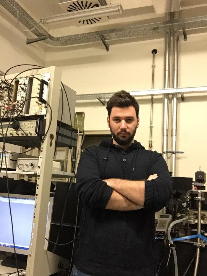 Δημοσθένης Τολιόπουλος - ερευνητής νανοτεχνολογίας