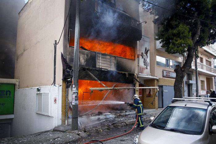 Έσβησε η πυρκαγια σε κατάστημα παιχνιδιών στο Χαλάνδρι